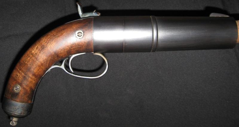 Left Handed 2 Bore Pistol